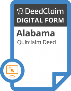 Alabama quit claim deed form