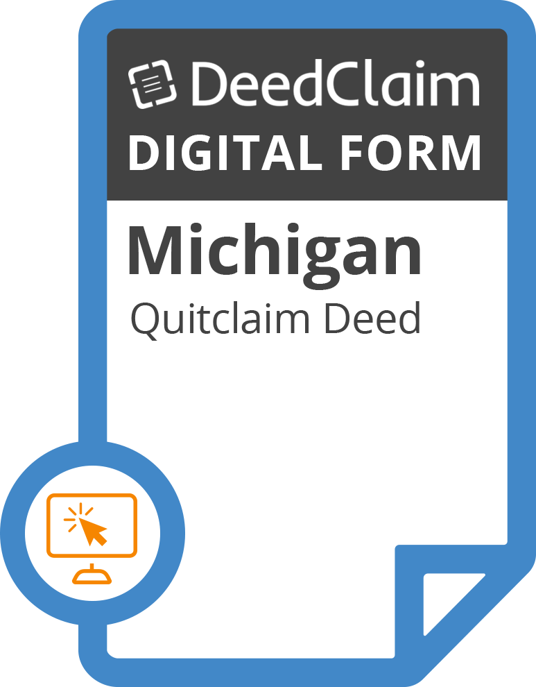 picture relating to Free Printable Quit Claim Deed Washington State Form known as Michigan Quitclaim Deed